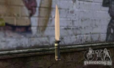 Длинный нож для GTA San Andreas второй скриншот
