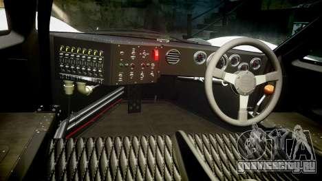 Ford GT40 Mark IV 1967 PJ 37 для GTA 4 вид сзади