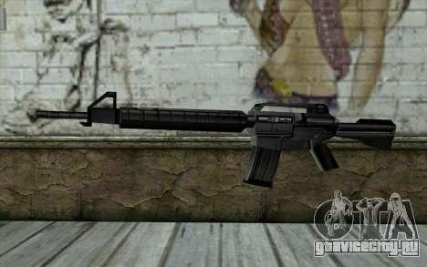 Retextured M4 для GTA San Andreas