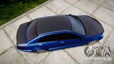 Benefactor Schafter Mercedes-Benz для GTA 4 вид справа