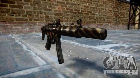 Пистолет-пулемёт MP5SD DRS CS c target для GTA 4