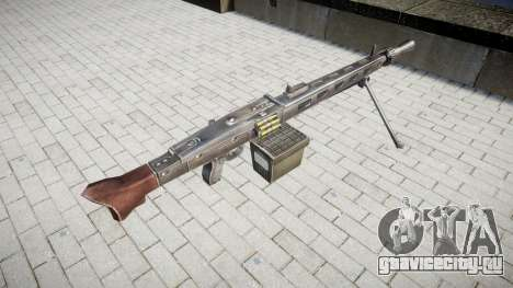 Немецкий пулемёт MG3 icon3 для GTA 4 второй скриншот
