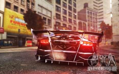 Lamborghini Aventador TZR R-Tech для GTA 4 вид слева