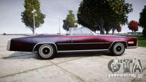 Cadillac Eldorado 1978 для GTA 4 вид слева