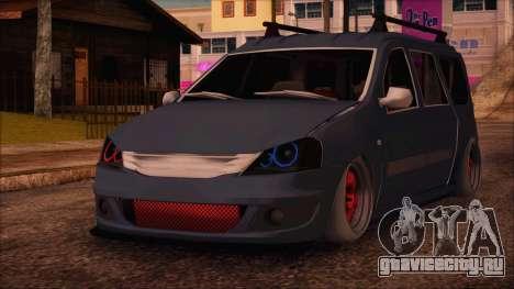 Dacia Logan MCV Tuning для GTA San Andreas