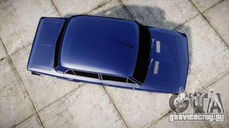 ВАЗ-2106 на пневме для GTA 4 вид справа
