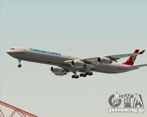 Airbus A340-600 Turkish Cargo для GTA San Andreas вид снизу