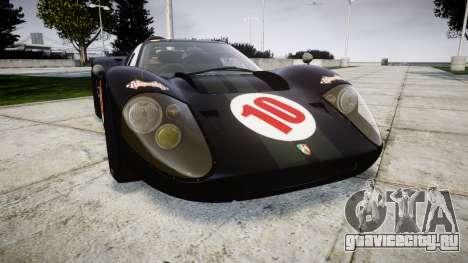 Ford GT40 Mark IV 1967 PJ Scuderia Westfalia 10 для GTA 4