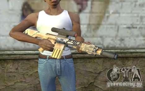 M110 Cuarter Combat Rifle для GTA San Andreas третий скриншот