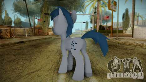 Noteworthy from My Little Pony для GTA San Andreas второй скриншот