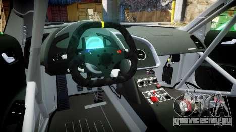 Audi R8 LMS Castrol EDGE для GTA 4 вид сзади