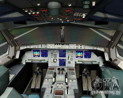 Airbus A340-600 Turkish Cargo для GTA San Andreas салон
