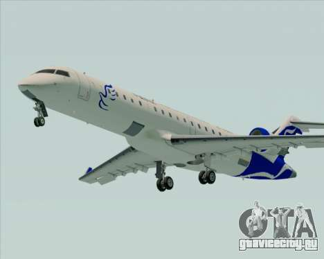Embraer CRJ-700 China Express Airlines (CEA) для GTA San Andreas вид сзади слева