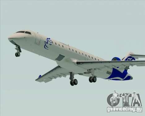 Embraer CRJ-700 China Express Airlines (CEA) для GTA San Andreas вид сзади слева