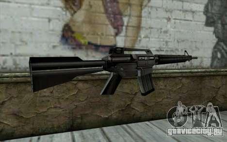 Retextured M4 для GTA San Andreas второй скриншот