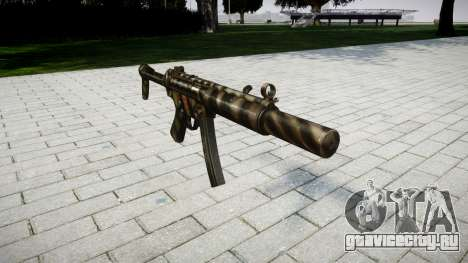 Пистолет-пулемёт MP5SD NA FS для GTA 4