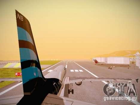 Airbus A320-214 Afriqiyah Airways для GTA San Andreas двигатель