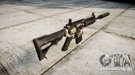 Автомат P416 silencer PJ1 для GTA 4 второй скриншот