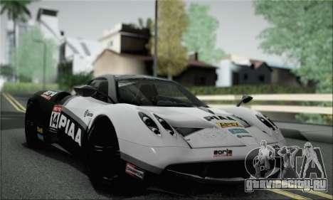 Pagani Huayra TT Ultimate Edition для GTA San Andreas вид сбоку