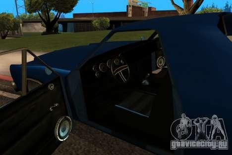 New picador для GTA San Andreas вид сбоку