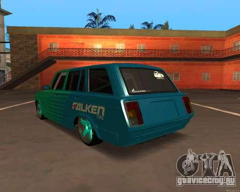 ВАЗ 2104 Falken для GTA San Andreas вид справа