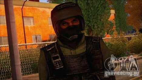 Urban from Counter Strike Condition Zero для GTA San Andreas третий скриншот