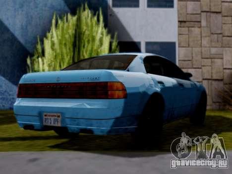 GTA V Intruder для GTA San Andreas вид слева