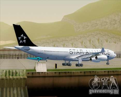 Airbus A340-300 All Nippon Airways (ANA) для GTA San Andreas колёса