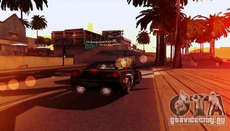 ENB для слабых компьютеров для GTA San Andreas восьмой скриншот