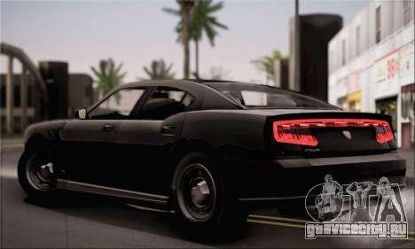 Bravado Buffalo S FIB для GTA San Andreas вид сзади слева