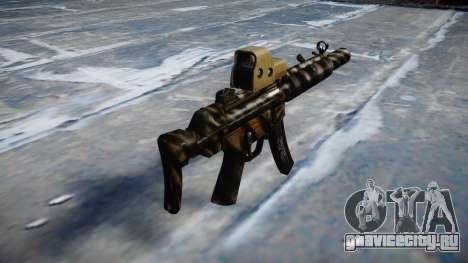 Пистолет-пулемёт MP5SD EOTHS CS c target для GTA 4 второй скриншот