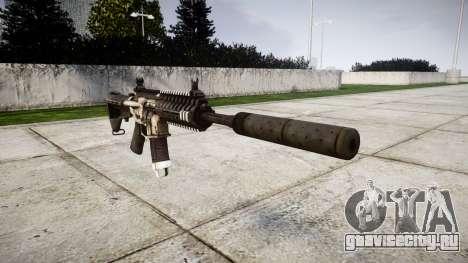 Автомат P416 silencer PJ1 для GTA 4