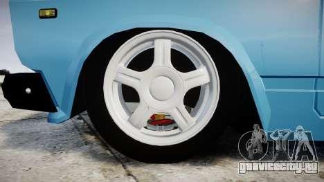 ВАЗ-2107 best model для GTA 4 вид сзади