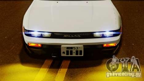 Nissan Silvia S13 1992 IVF для GTA San Andreas вид сзади слева