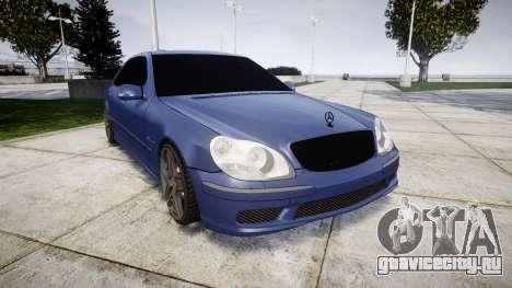 Mercedes-Benz W220 S65 AMG для GTA 4