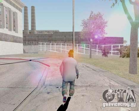 ClickClacks ENB V1 для GTA San Andreas седьмой скриншот