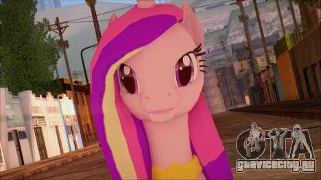Cadence from My Little Pony для GTA San Andreas третий скриншот