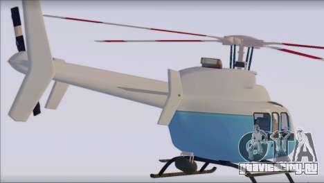 Bell 407 для GTA San Andreas вид слева
