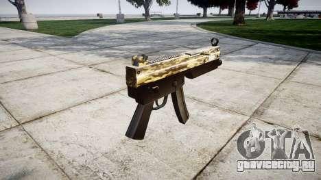 Пистолет-пулемёт MP5 Desert для GTA 4 второй скриншот