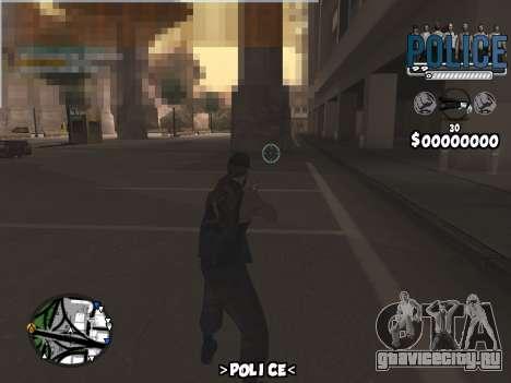 C-Hud Police для GTA San Andreas третий скриншот
