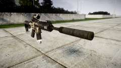 Автомат P416 ACOG silencer PJ1