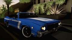 Sabre Convertible v1.0 для GTA San Andreas