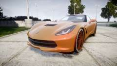 Chevrolet Corvette C7 Stingray 2014 v2.0 TireMi4 для GTA 4