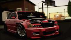 BMW M3 Coupe Tuned Version Burnout для GTA San Andreas