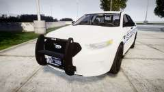 Ford Taurus 2014 [ELS] Liberty County Sheriff для GTA 4