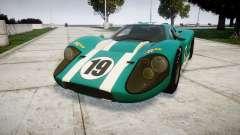 Ford GT40 Mark IV 1967 PJ Schila Racing 19 для GTA 4
