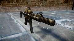 Пистолет-пулемёт MP5SD EOTHS FS c target