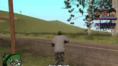 C-HUD Ice Rad Tyga для GTA San Andreas