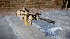 Автомат FN SCAR-L Mk 16 icon1 для GTA 4