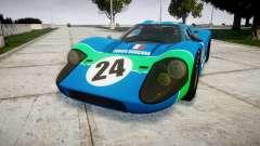 Ford GT40 Mark IV 1967 PJ Equipe Bouchard 24 для GTA 4